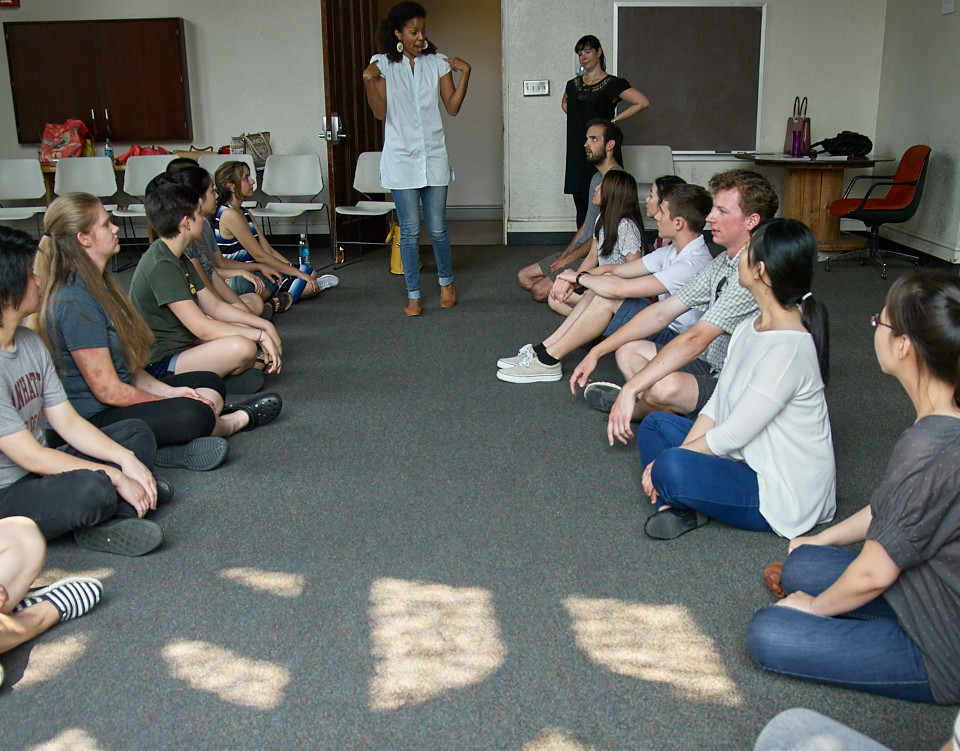 2015 Session 1 Workshop with Amanda Hilson and Yesenia Iglesias.
